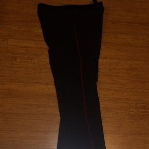 Worthington Pants - Worthington Navy Pants with Red Stripes